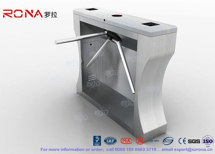 Automation RFID Stainless Steel Turnstile Access Control For Office Building