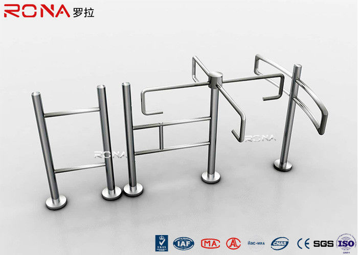 Half Height Turnstile Entrance Gates Access Control RS485 Communication Interface